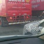 IAB spied 2014 Fiat Punto facelift fender