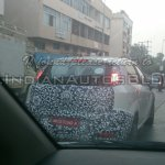 IAB spied 2014 Fiat Punto facelift rear end