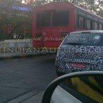 IAB spied 2014 Fiat Punto facelift rear quarter