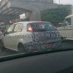IAB spied 2014 Fiat Punto facelift rear quarters