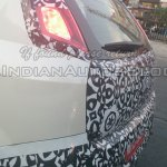 IAB spied 2014 Fiat Punto facelift taillight