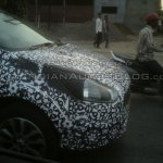 IAB spied Fiat Avventura headlight