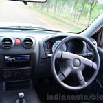Isuzu D-Max Flat Deck Review dashboard