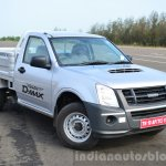 Isuzu D-Max Flat Deck Review front three quarter
