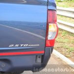 Isuzu D-Max Spacecab Arched Deck Review cargo lid