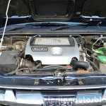 Isuzu D-Max Spacecab Arched Deck Review engine photo
