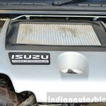 Isuzu D-Max Spacecab Arched Deck Review engine