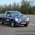 Isuzu D-Max Spacecab Arched Deck Review moving