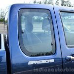 Isuzu D-Max Spacecab Arched Deck Review rear window