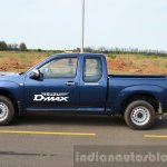 Isuzu D-Max Spacecab Arched Deck Review side