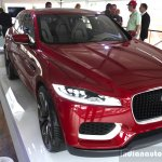 Jaguar C-X17 front three quarters at the 2014 Goodwood Festival of Speed