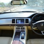 Jaguar XF 2.0L Petrol Review cabin