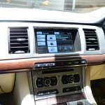 Jaguar XF 2.0L Petrol Review center screen