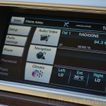 Jaguar XF 2.0L Petrol Review central screen