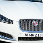 Jaguar XF 2.0L Petrol Review grille and light