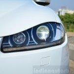 Jaguar XF 2.0L Petrol Review headlamp