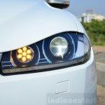 Jaguar XF 2.0L Petrol Review headlight