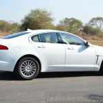 Jaguar XF 2.0L Petrol Review side profile