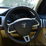 Jaguar XF 2.0L Petrol Review steering