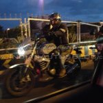Mahindra Mojo spied front three quarter