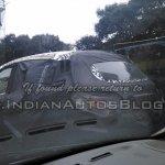Mahindra S101 spied by IAB rear