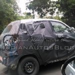 Mahindra S101 spied by IAB side