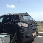 Mahindra S101 spied rear fascia