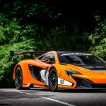 McLaren 650S GT3 2014 Goodwood front right three quarters
