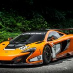 McLaren 650S GT3 2014 Goodwood front three quarters