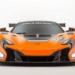 McLaren 650S GT3 studio shot front