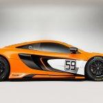 McLaren 650S GT3 studio shot profile
