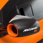 McLaren 650S GT3 studio shot rear view camera