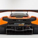McLaren 650S GT3 studio shot rear