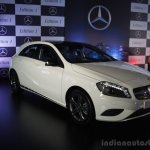 Mercedes Benz A class Edition 1 launch front quarter
