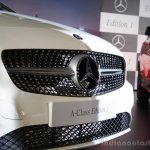 Mercedes Benz A class Edition 1 launch grille view