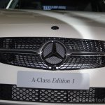 Mercedes Benz A class Edition 1 launch grille