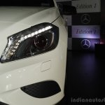 Mercedes Benz A class Edition 1 launch headlight