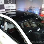 Mercedes Benz A class Edition 1 launch panoramic roof