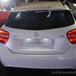 Mercedes Benz A class Edition 1 launch rear