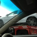 Mercedes GLA spied in India alloy wheel