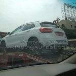 Mercedes GLA spied in India rear quarters