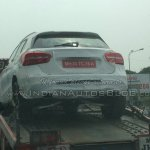 Mercedes GLA spied in India rear