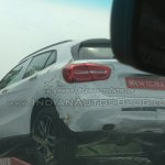 Mercedes GLA spied in India taillight