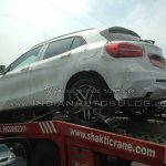 Mercedes GLA spied in India