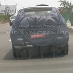 New Fiat Avventura spied IAB rear
