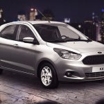 New Ford Ka production version press shot