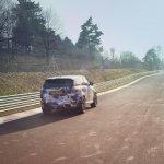 Range Rover Sport SVR prototype press shot rear quarter
