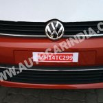 Spied 2014 VW Polo facelift India grille