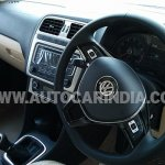 Spied 2014 VW Polo facelift India interior