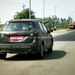 Spied Maruti SX4 S-Cross rear quarter